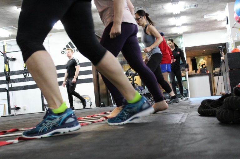 Gym in Tokyo