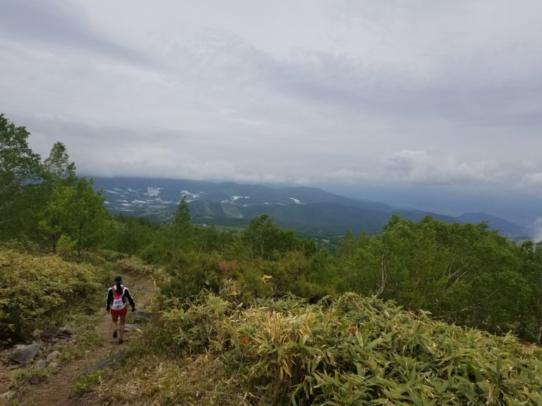 Trails deep in mountains of Nagano