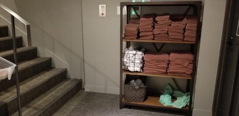 b-monster boxing studio towel service