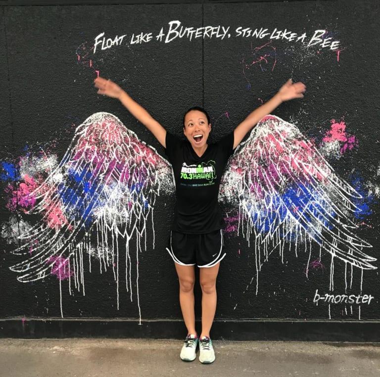 b-monster wings graffiti