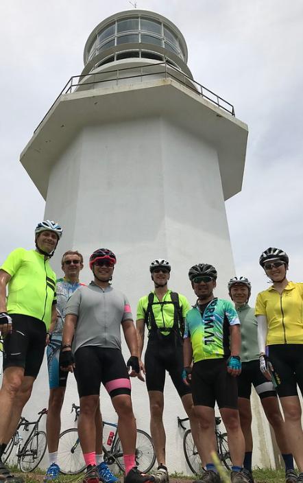 Cycling at Miura Peninsula in Japan
