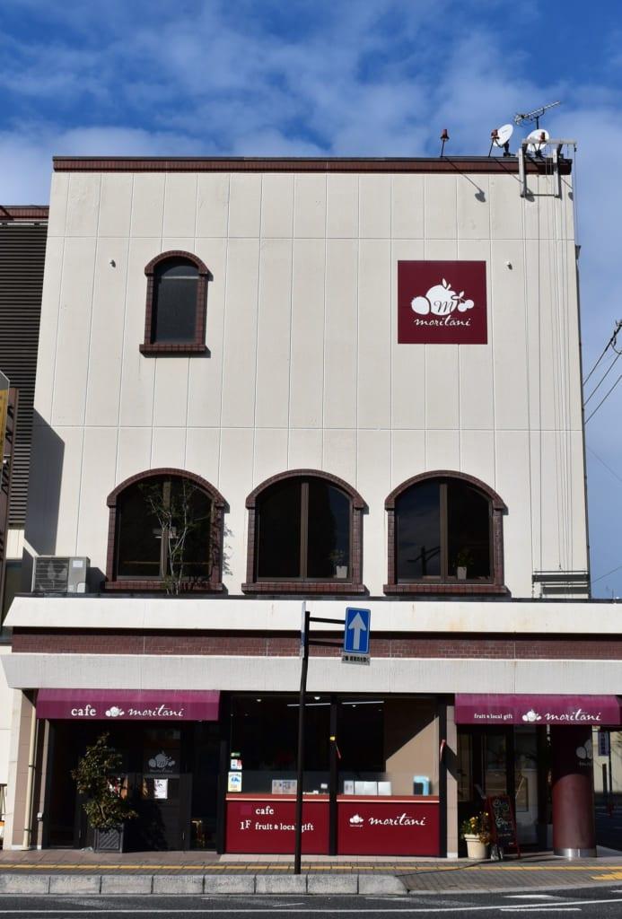 Cafe Moritani exterior