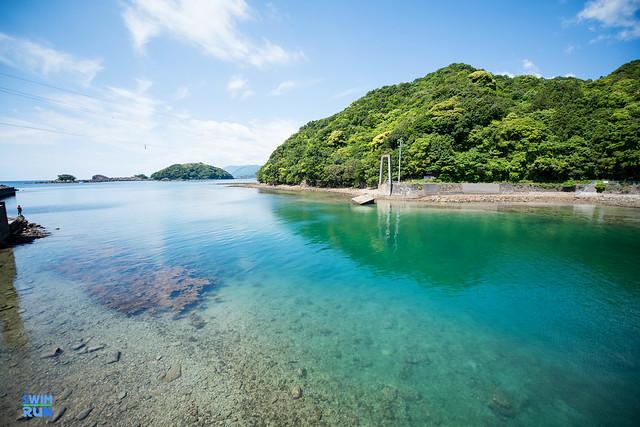 Bay in Nikko National Park in Marunuma, Gunma
