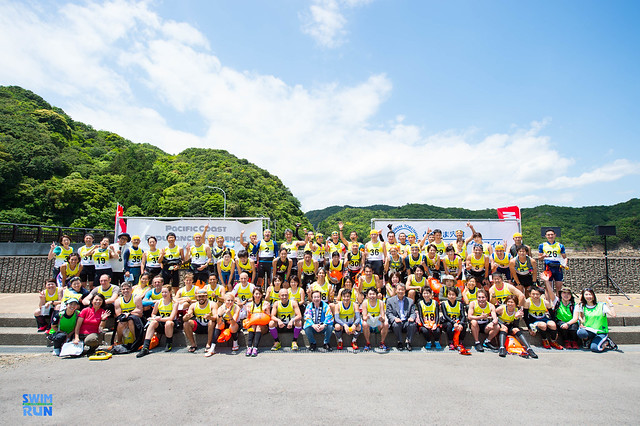 Marunuma Swimrun group photo