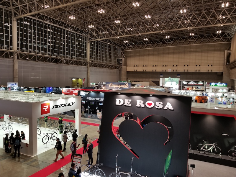 Cycling exhibition in Japan