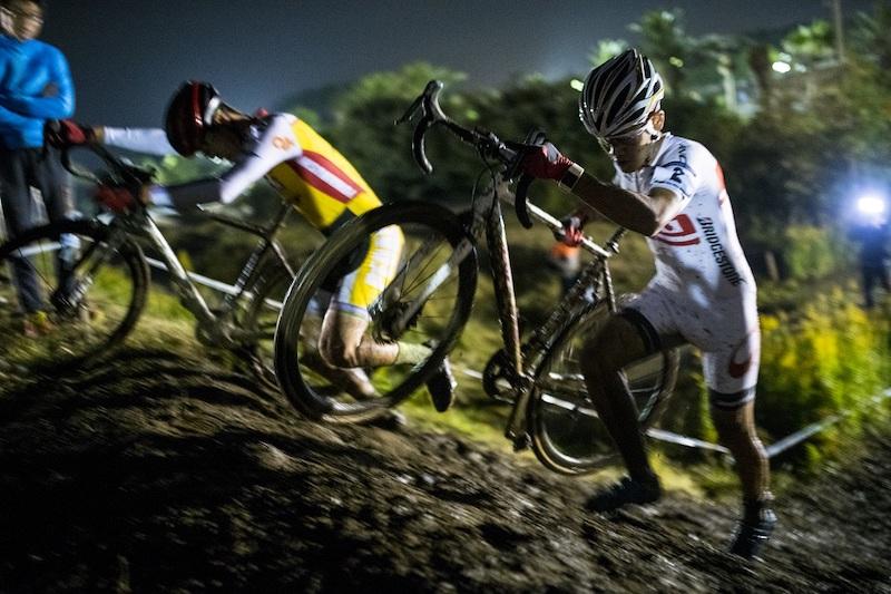 Cyclocross race in Tokyo