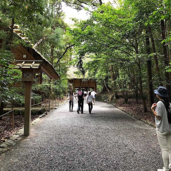 Inside Ise Jingu Naiku