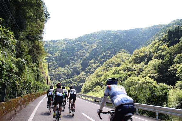 Shimane cycling at Masuda Inaka Ride