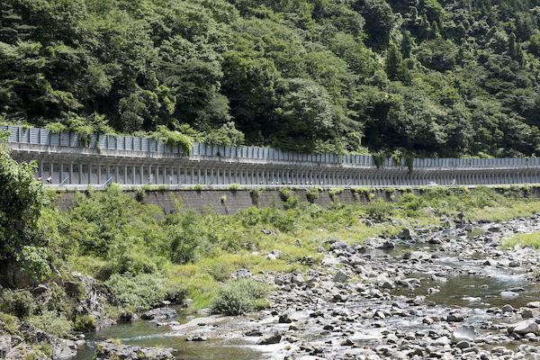 Scenic roads in Shimane