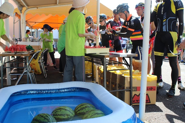 Cycling event in Shimane Prefecture
