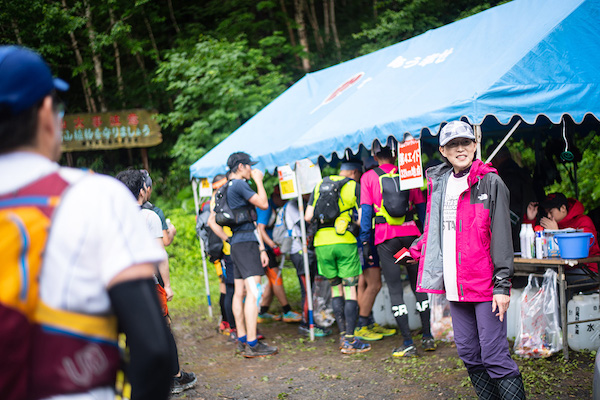 Mt. Taisetsu Trail Journey check in tent