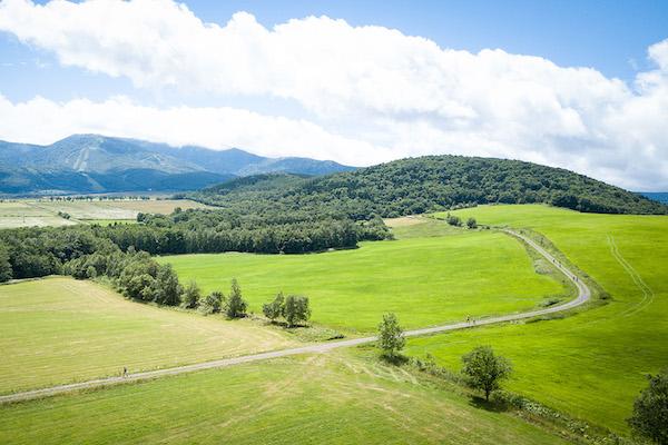 view of Taisetsu trail
