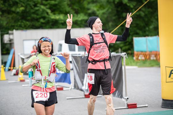 runners during Skyline Trail Sugadaira race
