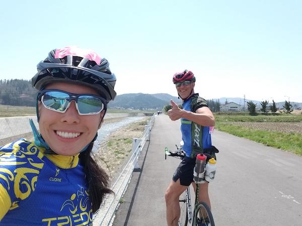 Cycling Nagano's northern alps