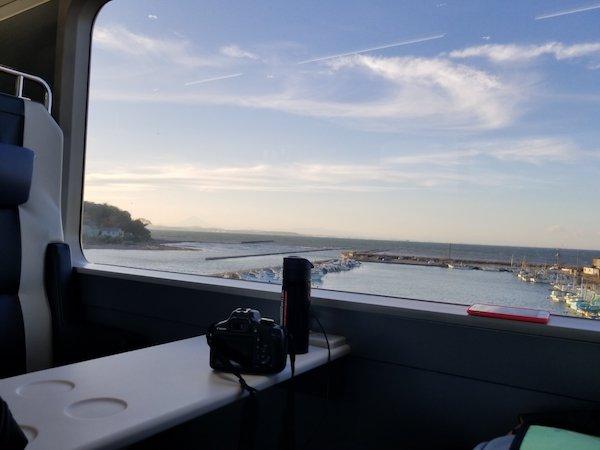 Chiba coast from BBBase Train