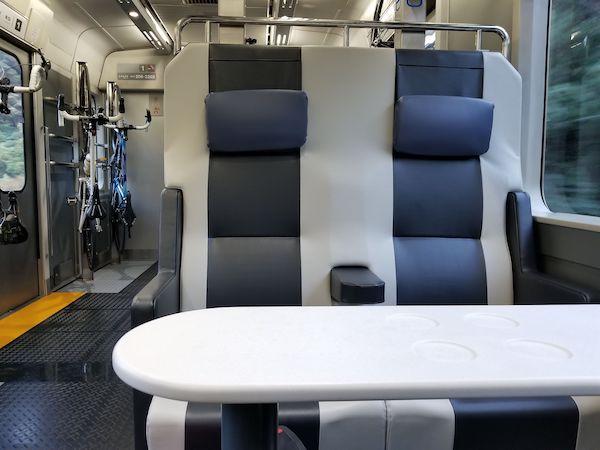 seats in BBBase Train