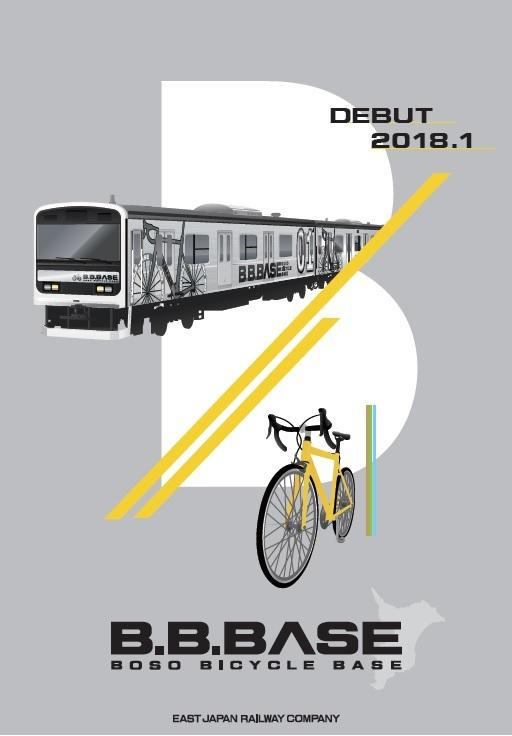 Boso Bicycle Base Train sign