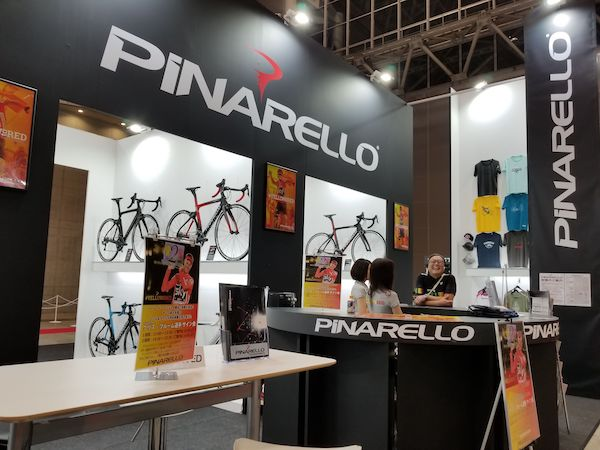 Pinarello booth at Cycle Mode International
