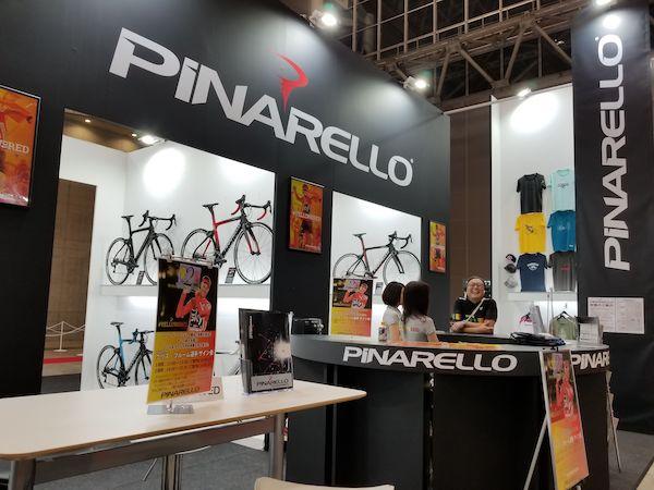 Pinarello booth at Cycle Mode International