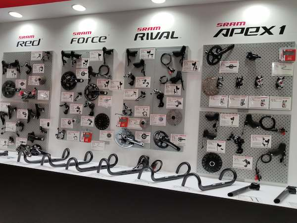 SRAM gear sets in Japan