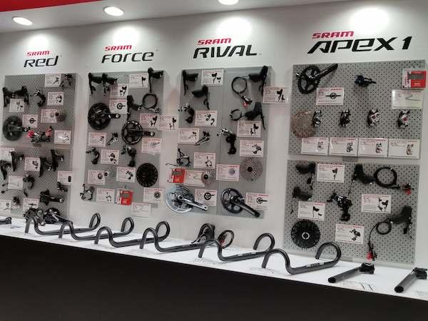 SRAM gear sets in Japan