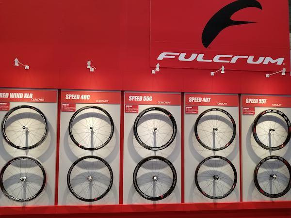 Fulcrum wheels on display