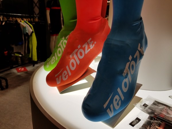 Shoe covers for cycling