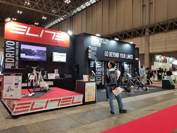Booths at Cycle Mode International
