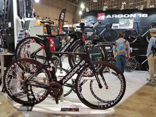 Argon 18 bike in Japan