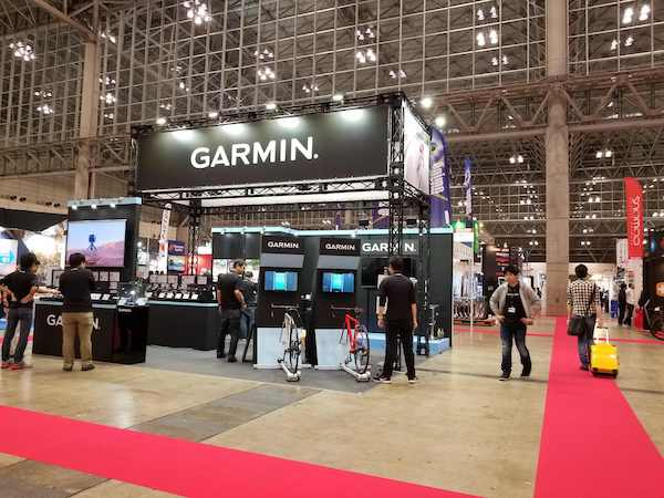Garmin at exhibition