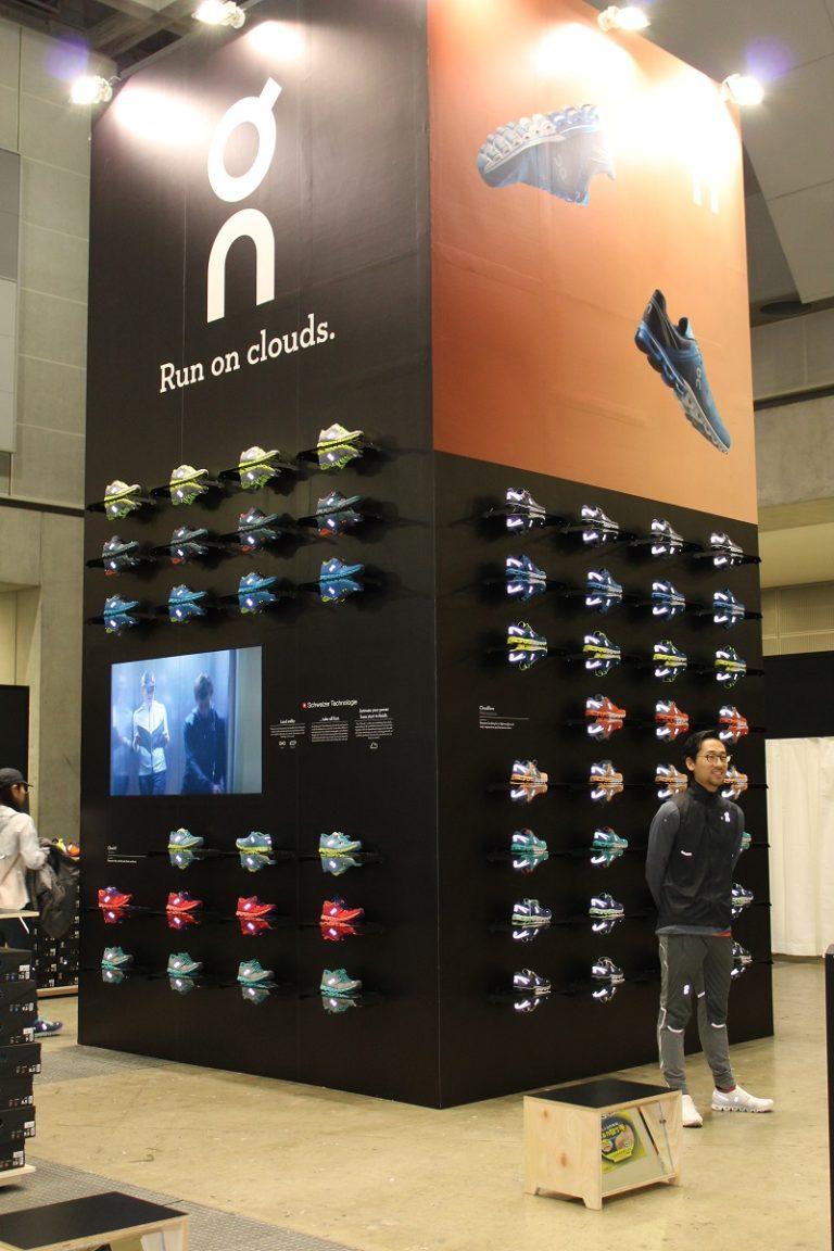 shoes at Tokyo Marathon expo
