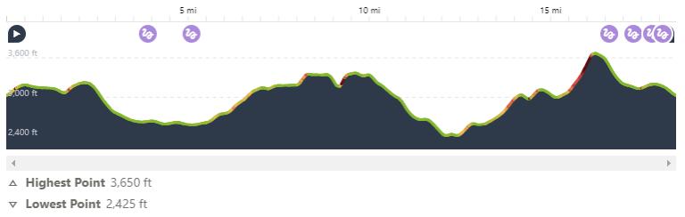 Grinduro Japan elevation profile
