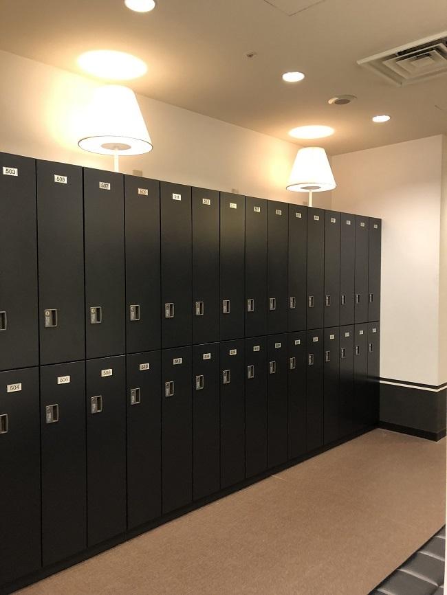 Marunouchi lockers