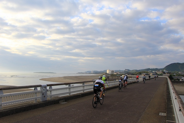 Cycling Miyazaki Nichinan coast