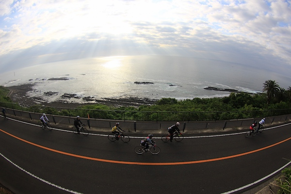 Cycling Nichinan coast