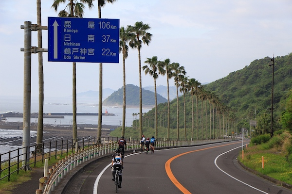 Miyazaki coastal roads