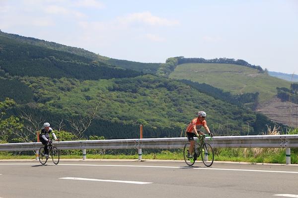 Biking in Miyazaki, Japan
