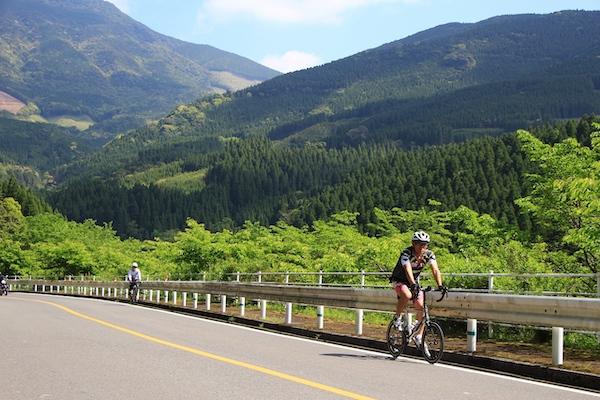 Beautiful cycling roads in Miyazaki
