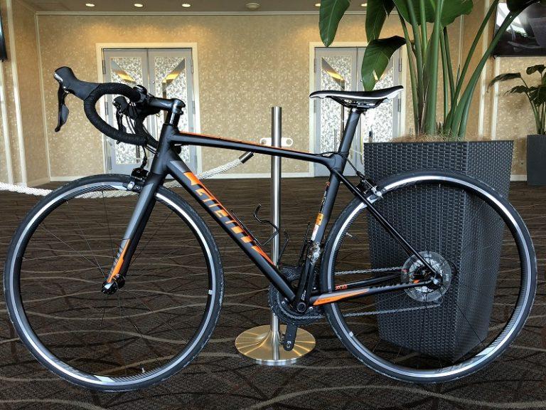 Rental bike at Okinawa International Triathlon