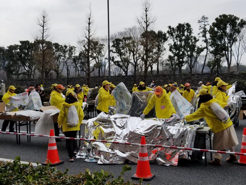 Tokyo Marathon volunteers