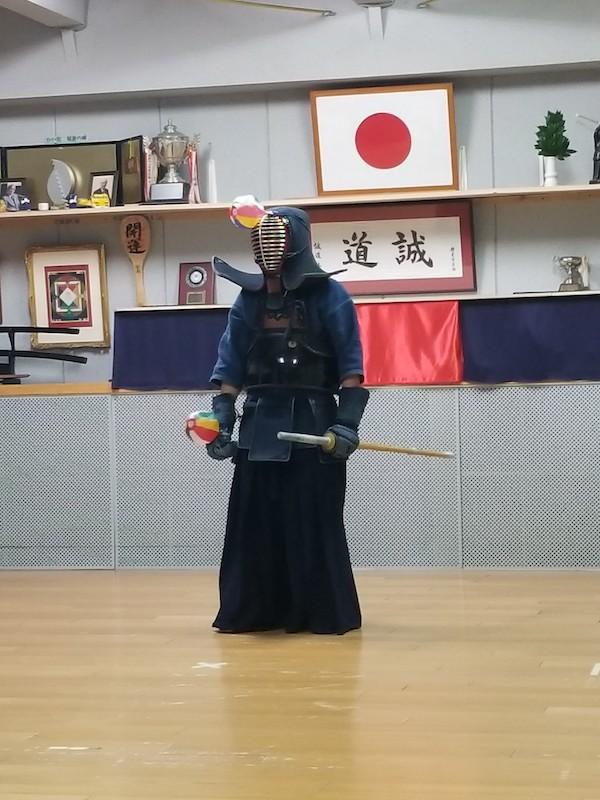 kendo athlete