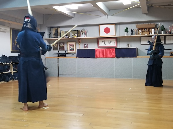 learning kendo technique