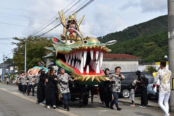 festival at gassan ryujin marathon