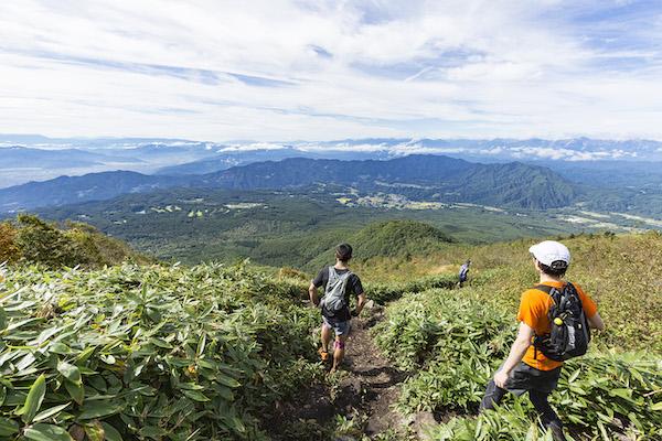 runners during Shinshu togakushi trail race