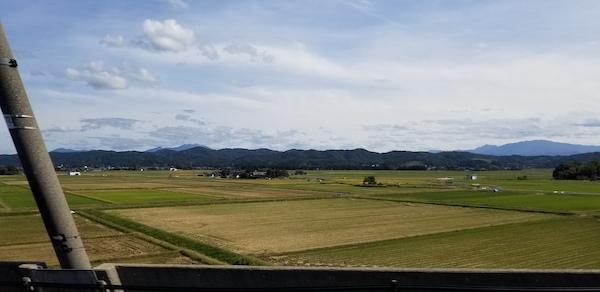 Shonai town in Yamagata