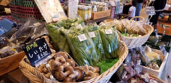 Fresh vegetables in Yamagata, Japan
