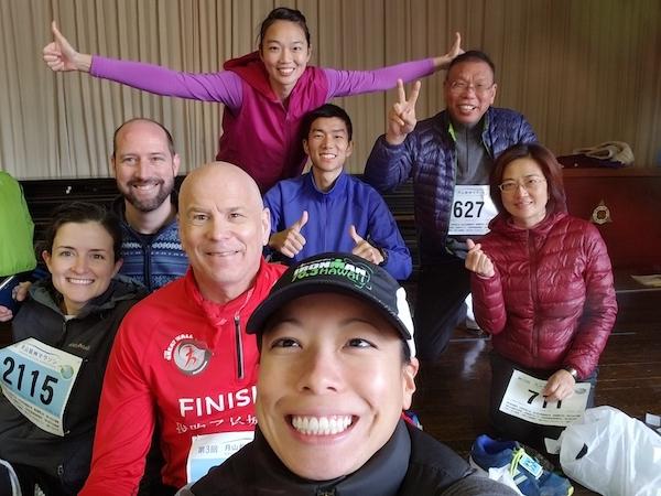 Samurai Sports at Gassan Ryujin Marathon