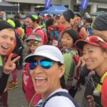 Trail runners group photo