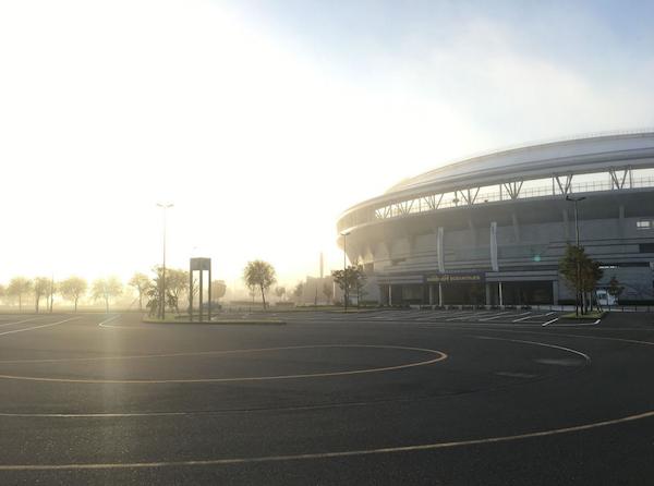 Stadium in Niigata
