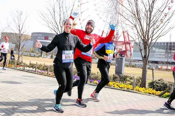 participants of friendship run